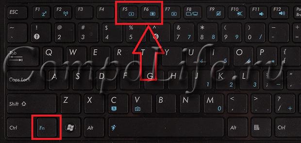 Почему экран на ноутбуке гаснет